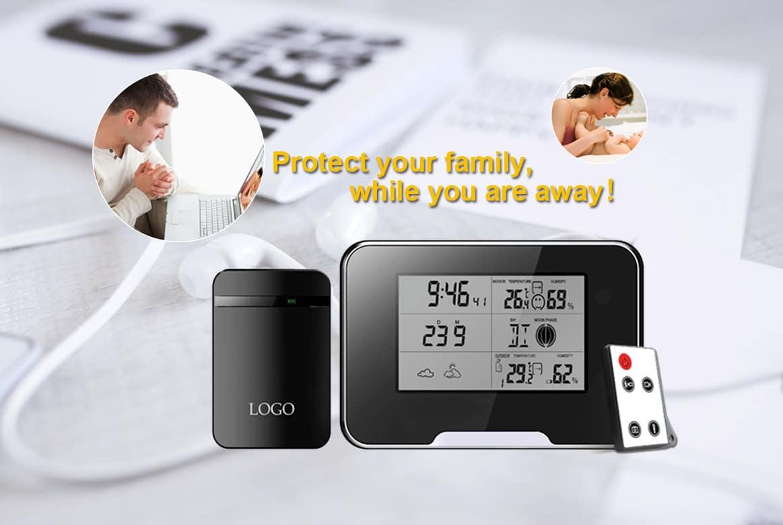 wetterstation mit getarnter kamera und integrierter aufzeichnung spyshop berwachungsger te. Black Bedroom Furniture Sets. Home Design Ideas