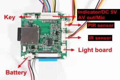 BC-1080 PIR-Kamera-Modul -4