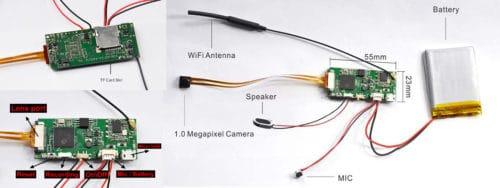 BC-720W PIR-Kamera-Modul details