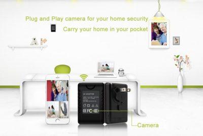 Full-HD-Kamera mit WiFi getarnt im Ladeadapter 2