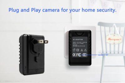 Full-HD-Kamera mit WiFi getarnt im Ladeadapter 3