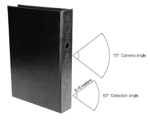 Getarnter Full-HD-Camcorder im Buch 6