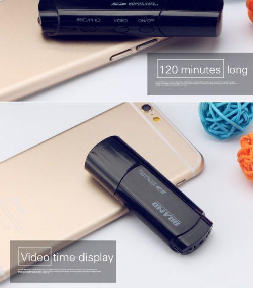 USB-Stick-Kamera mit Frontblickwinkel 7