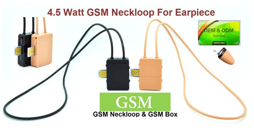 GSM-Abhögeräte | Verdecktes GSM-Headset All-in-One