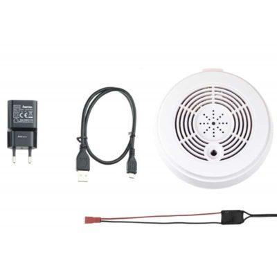 Getarnte Funkkamera | UltraLife Rauchmelder-WiFi-Kamera