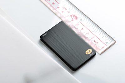 Audio-Recorder Aufnahmegerät im Scheckkartenformat