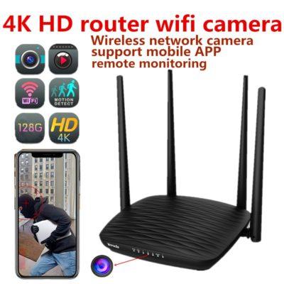 WiFi-Router mit versteckter 4K-HD-Camera