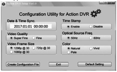 DVR Konfiguration