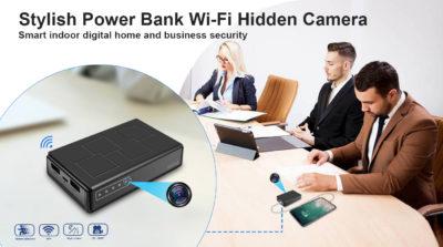 WiFi Powerbank-Kamera in 1080-Full-HD